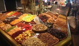 Рынок boqueria Ла - Барселона Стоковая Фотография RF