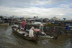 Рынок Can Tho плавая (2) Стоковое Изображение RF