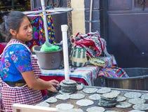 Рынок Chichicastenango Стоковое Изображение