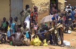 рынок dimeka дня стоковое фото rf