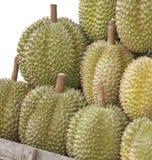 рынок durians Стоковые Изображения