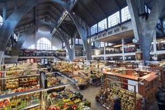 Рынок Hall aw 'WrocÅ стоковое изображение rf