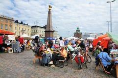 рынок helsinki стоковое изображение rf