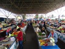 Рынок, Kamenets-Podolskiy, Украина Стоковое Изображение