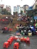 Рынок Lat Da, Вьетнам Стоковая Фотография RF