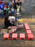 Рынок Lat Da, Вьетнам Стоковые Фотографии RF