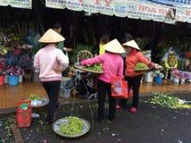 Рынок Lat Da, Вьетнам Стоковая Фотография