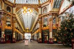 Рынок Leadenhall в Лондоне ноябре 2015 Стоковые Изображения RF