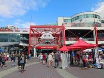 Рынок Lonsdale Quay Стоковое Фото