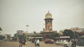 Рынок Moazzamjahi Стоковое фото RF