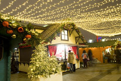 рынок moscow рождества Стоковые Изображения