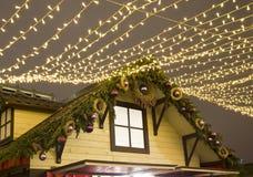 рынок moscow рождества Стоковая Фотография RF