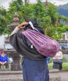 Рынок Otavalo, эквадор стоковое фото