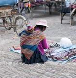 Рынок Pisac стоковое фото rf