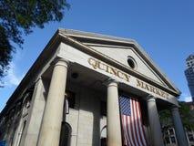 Рынок Quincy, Бостон, Массачусетс, США стоковое фото rf