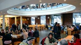 Рынок Quincy, городской Бостон, США, акции видеоматериалы