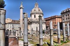 рынок rome trajan Стоковое Изображение