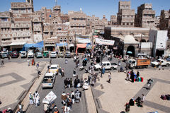 Рынок Sanaa, Йемен Стоковое Фото