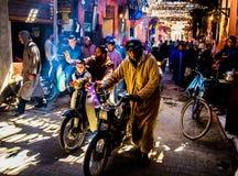 Рынок Souk Marrakech, Марокко стоковые изображения