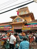 рынок tay Вьетнам cho benh Стоковое Изображение RF