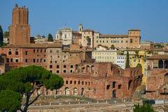Рынок Troyan в Риме Стоковые Фотографии RF