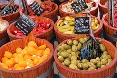 Рынок Vegetebles Стоковое Изображение