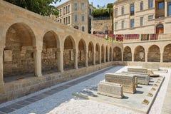 Рыночная площадь в Баку Стоковая Фотография