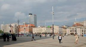 Рыночная площадь в Катовице стоковая фотография