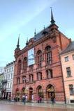 Рыночная площадь Торуна, Польша стоковое изображение rf
