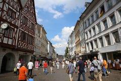 Рыночная площадь Трир Германия стоковая фотография rf