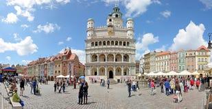 Рыночная площадь, Poznan, Польша Стоковое Изображение