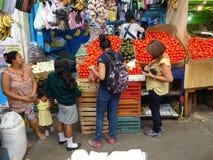 Рыночное месте в Геррере Мексике Стоковые Фото