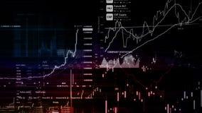 Рыночные индексы фондовой биржи двигают в виртуальный космос Экономический рост, рецессия видеоматериал