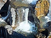 рытвины водопада Стоковое Изображение RF