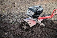 Рыхлитель, оборудование сельско-хозяйственной техники аграрное напольно стоковое изображение