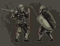рыцари Стоковое Изображение