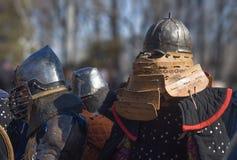 рыцари Стоковые Фотографии RF