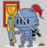 Рыцарь вектора милый Стоковые Изображения