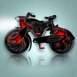 рыцарь велосипеда черный Стоковые Фото