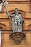 Рыцарь в панцыре Стоковое фото RF