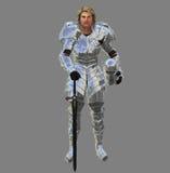 Рыцарь в сияющем панцыре Стоковое фото RF