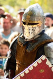 рыцарь Иерусалима сражения Стоковое фото RF