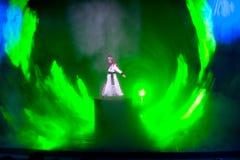 Рыцарь--Историческое волшебство драмы песни и танца стиля волшебное - Gan Po Стоковая Фотография