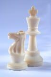рыцарь короля шахмат Стоковые Изображения