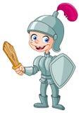 рыцарь малыша Стоковые Изображения RF