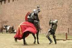 Рыцарь на лошади Стоковые Изображения RF