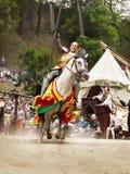 Рыцарь на лошади Стоковые Фотографии RF