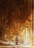 Рыцарь привратника Стоковое Фото