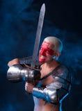 Рыцарь с шпагой Стоковая Фотография