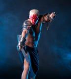 Рыцарь с шпагой Стоковое Изображение RF